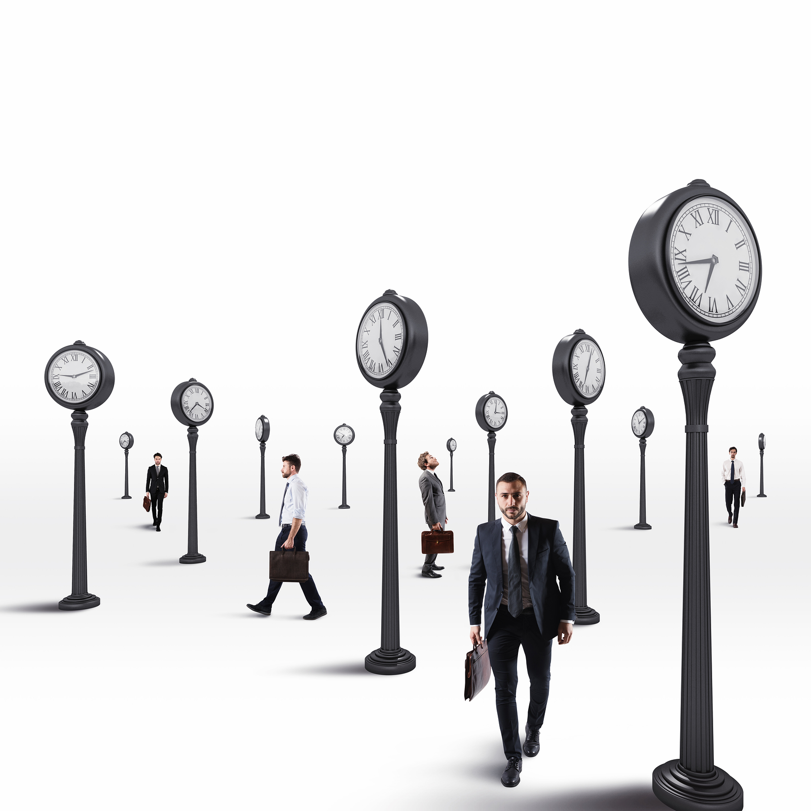 Employee time tracking application