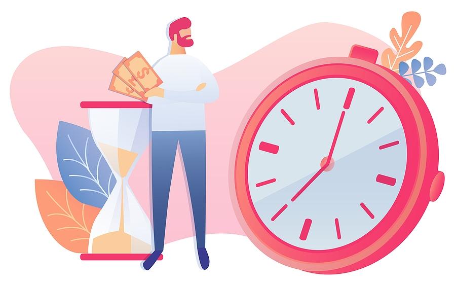 GPS work time clock